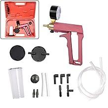 STARRICH Hand Held Brake Bleeder Tester Set Vacuum Pump Gauge Car Motorcycle Garage Tool