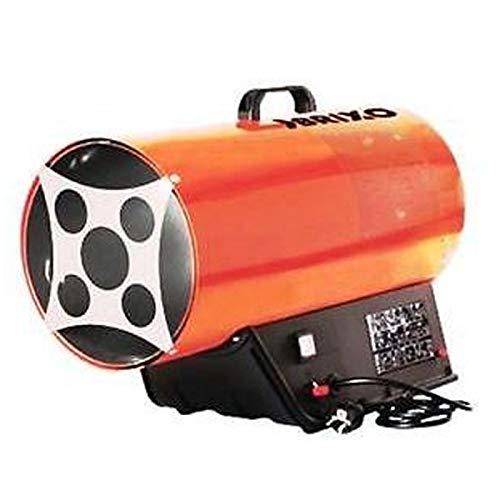 Générateur d'air chaud 17KW soufflants à gaz livré avec tuyau + détendeur Haute performance BRIXO