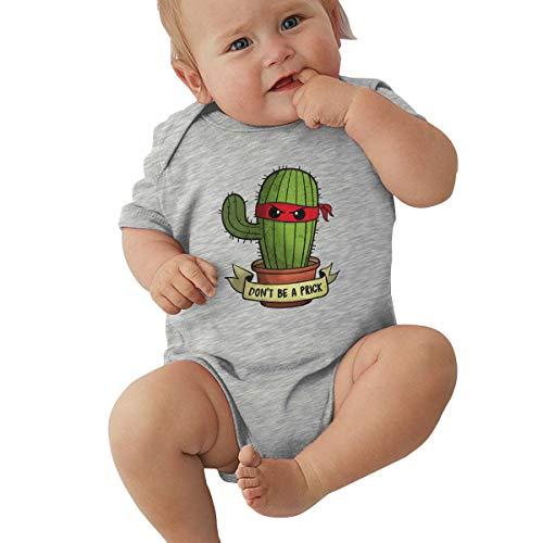 Unisex Baby Short Sleeve Bodysuits Don't Be