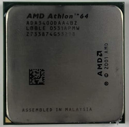 Amazon Com Amd Athlon 64 3400 2 2 Ghz Ada3400daa4bz Processor Computers Accessories
