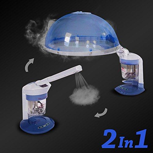 Cool Mefeir Hair Facial Steamer Portable Mini Hot Spa Salon Pro Interior Design Ideas Clesiryabchikinfo