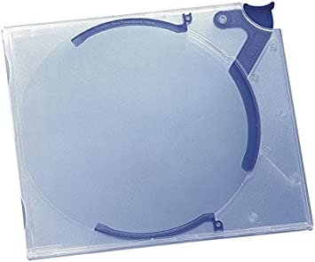 Durable 528806 Cd Hardbox Quickflip Standard Für 1 Cd Pp 142 X 126 X 29 Mm 10 Stück Transp Blau Bürobedarf Schreibwaren