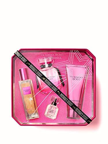 Victoria's Secret Bombshell Eau de Parfum 4-Piece Limited Edition Set ()