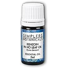 Essential Oil Benzoin in Ho Leaf Simplers Botanicals 5 ml Liquid