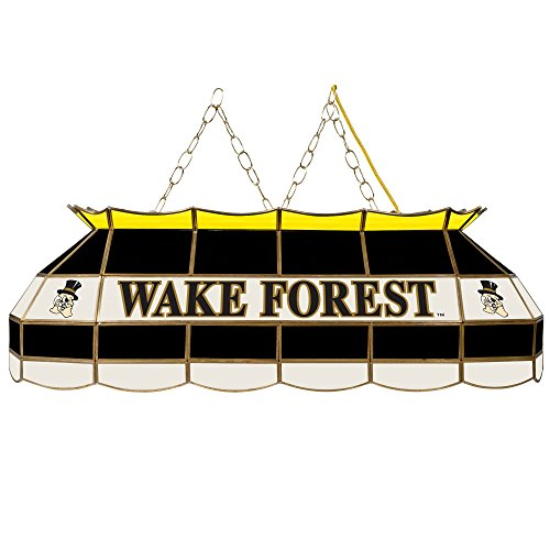 NCAA Wake Forest University Tiffany Gameroom Lamp, 40'' by Trademark Gameroom