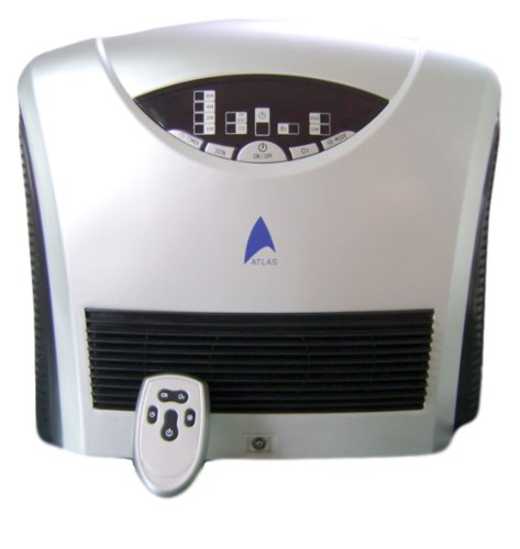 Atlas Dual Pro Ozonator HEPA/Carbon Filter UVC Lamp Air Purifier Remote Control(D) and it comes with 1 yr warranty