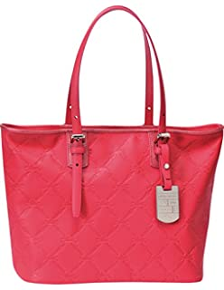 Longchamp Lm Cuir Large Tote Pink Bag Leather Handbag Purse Logo Only 1 NEW