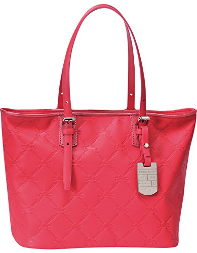 c1e3cb6e8a2e Amazon.com  Longchamp Lm Cuir Large Tote Pink Bag Leather Handbag Purse  Logo Only 1 NEW  Shoes