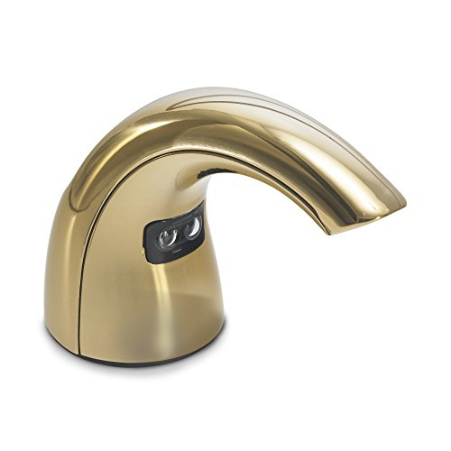 GOJO CXT Foam Soap Touch-Free Counter Mount Dispensing System, Gold Tone, Counter Mount Dispenser for GOJO CX 1500/2300 ml Soap Refills - -