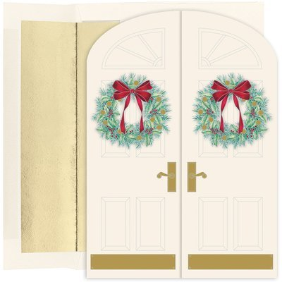 Masterpiece Studios Holiday Doorway Boxed Holiday Cards, Set of 16