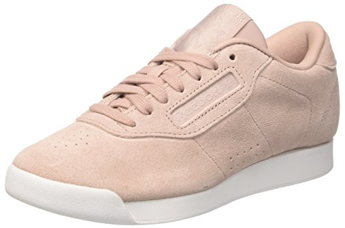 Reebok Damen Princess Eb Gymnastikschuhe, Pink (Shell Pink/Whisper Grey/White)
