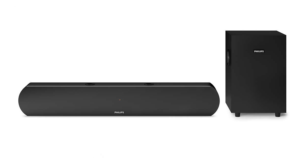 80324e83ed1 Philips HTL1032 2.1 Channel Bluetooth Soundbar Speakers with Subwoofer  (Black) Price  Buy Philips HTL1032 2.1 Channel Bluetooth Soundbar Speakers  with ...