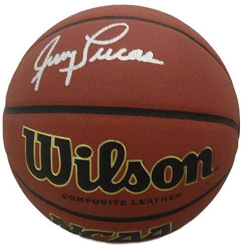Jerry Lucas Autographed Ohio State Buckeyes Wilson NCAA Basketball JSA