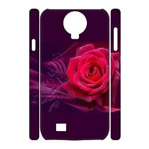 3D Flower of Love Samsung Galaxy S4 Case White