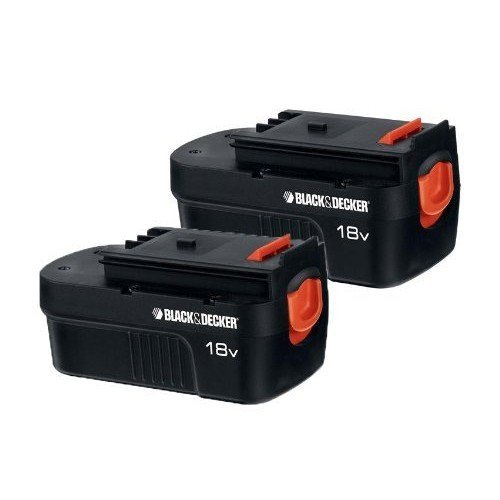 Genuine Black & Decker HPB18 Battery (2-Pack) 18V 18 Volt replaces 244760-00 Firestorm FSB18 (Black And Decker 18v Light compare prices)