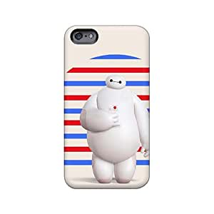Shock Absorption Cell-phone Hard Covers For Iphone 6plus With Unique Design HD Big Hero 6 Series AlissaDubois
