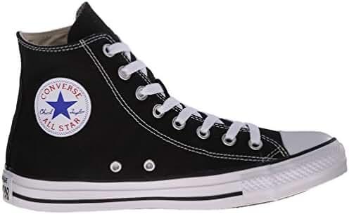 Converse Men's Chuck Taylor All Star High Top Sneakers (7.5 B(M) US Women / 5.5 D(M) US Men, Black)