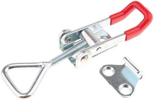 炭素鋼製 トグルクランプ ラッチ型 固定具ラッチ クランプクリップロック式 GH-4001 S