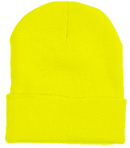 2040USA Unisex Plain 12 inch long Beanie - Many Colors (One Size, (Snow White And The Seven Dwarfs Costumes)