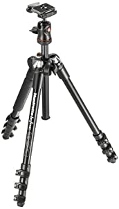 Manfrotto MKBFRA4-BH BeFree Compact Aluminum Travel Tripod Black