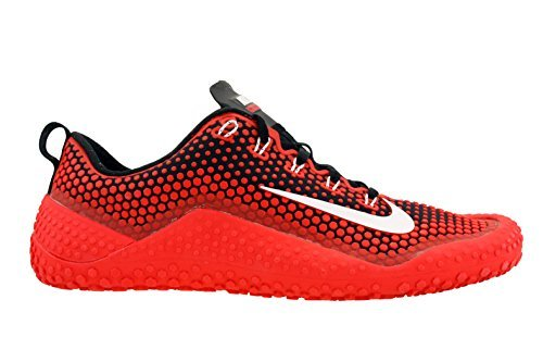 Nike Mens Free Trainer 1.0 Training Shoes Challenge Red/Black/White 807436-610 Size 10