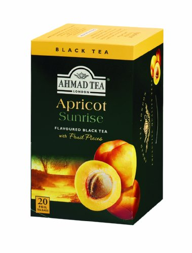 Ahmad Tea Apricot Sunrise , Tea Bags, 20-Count Boxes