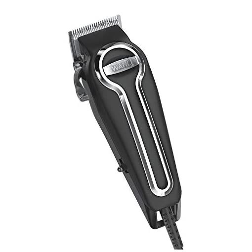Wahl Clipper Elite Pro High Performance Haircut Kit for men, includes Electric Hair Clippers, secure fit guide combs with stainless steel clips - By The Brand used by Professionals #79602 - 41tZevDVajL - Wahl Clipper Elite Pro High-Performance Home Haircut & Grooming Kit for Men – Electric Hair Clipper – Model 79602