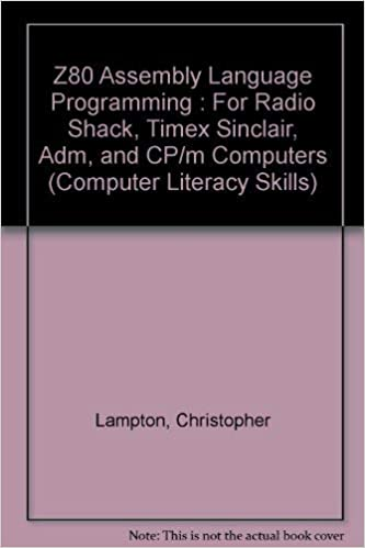 Z80 assembly-language: Programming for Radio Shack, Timex