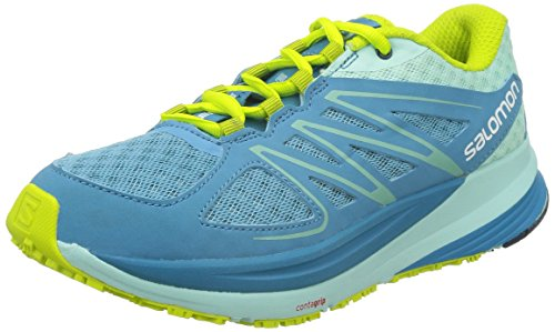 Green Zapatillas igloo mist Running Pulse Blue Mujer gecko Azul De Blue Blau Salomonsense 6p7xzwx