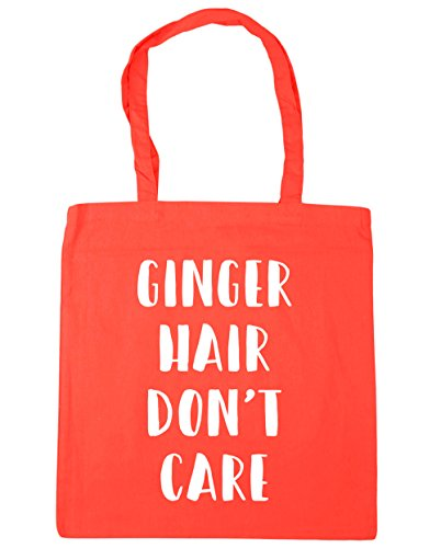 42cm Hair 10 Coral HippoWarehouse Shopping Tote Care Beach Ginger litres x38cm Gym Don't Bag 5wxCzq