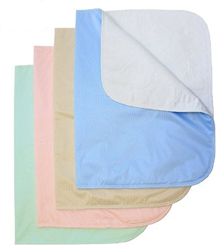 Care Chair (Platinum Care Pads™ Washable Bed Pads/Chair Pads For Incontinence - Size 18x24 - Pack of 4)
