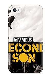 Iphone 4/4s Case Bumper Tpu Skin Cover For Infamous Second Son Accessories