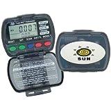 Sun Company TrekLINQ - 8-Function Pedometer and Step-Counter