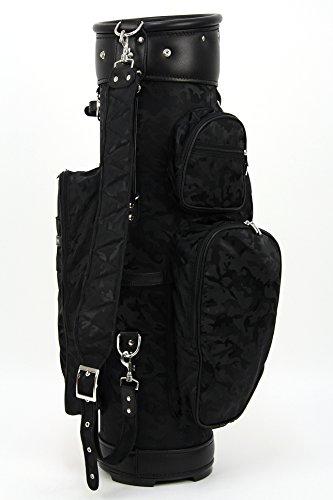 ツェラーゴルフ キャディバッグ 9.5インチ対応 ton-9shadow-leder654 ブラックの商品画像