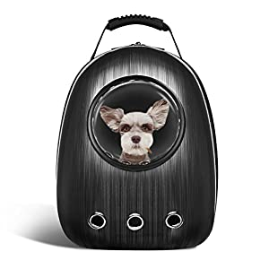 18. Anzone Pet Portable Carrier Space Capsule Backpack, Pet Bubble Traveler