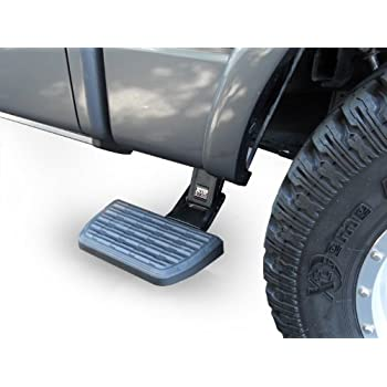 Image of Body AMP Research 75411-01A BedStep2 Retractable Truck Bed Side Step for 2014-2018 Ram 2500/3500 (Excludes Dually)