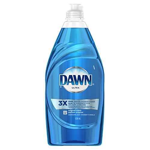 Dawn Dish Soap, Ultra Dishwashing Liquid, Original Scent, Blue, 21.6