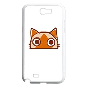 Samsung Galaxy N2 7100 Cell Phone Case White CAT SUX_901693