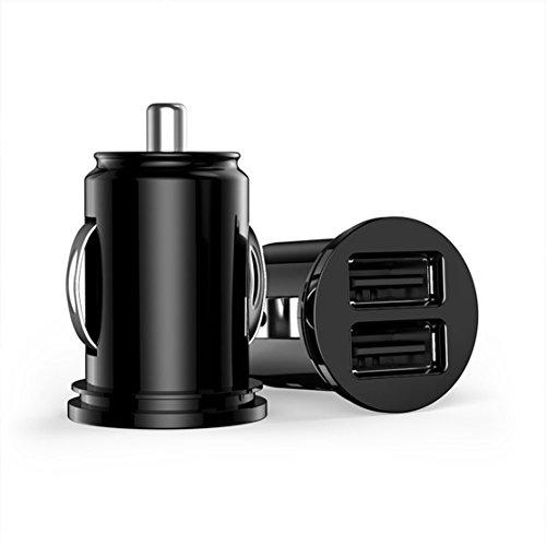 2-port USB Universal Car Charger 12V Lighter Socket (Silver) - 9