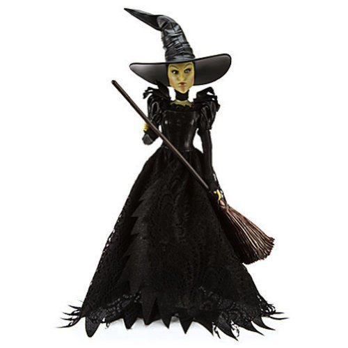 Disney Wicked Witch of the West Doll Wizard of Oz the Great and Powerful 11 1/2'' (Wicked Witch Of The West Broom)