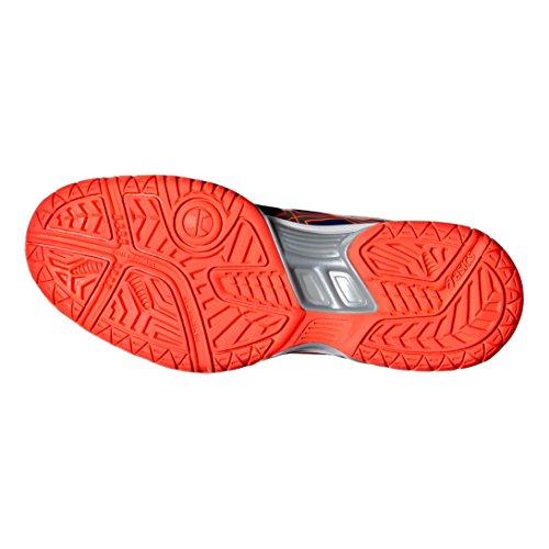 Chaussures femme Asics Gel-SQUAD bleu/argent/corail flash