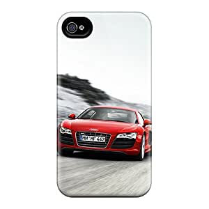 Iphone 6plus QHw11973hDdB Support Personal Customs Vivid Audi R8 Pictures Durable Hard Phone Cases -JohnPrimeauMaurice