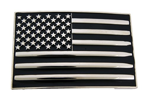 Us Pride American Superpower Nation Country Flag Belt Buckle USA 50 Stars - Flag Belt Buckle