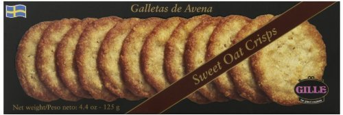 Gille Gille - Gille Crisps Cookies, Sweet Oat, 4.4 Ounce (Pack of 8) by Gille