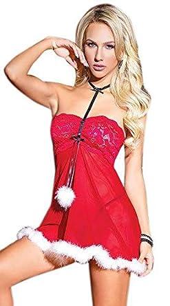 MYEDO Christmas Lingerie for Women 36a6f9173
