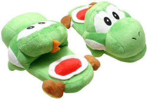 Super Mario Yoshi, zapatillas de felpa cálido zapatillas para ...