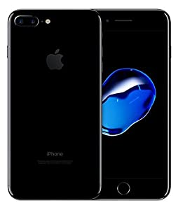 Apple iPhone 7 Plus, GSM Unlocked, 32GB - Jet Black (Certified Refurbished)