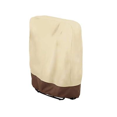HZJSPXC Thicken Outdoor Zero Gravity Folding Chair Cover, Outdoor Folding Chair Covers Waterproof and UV Resistant (32.3'' x 36.6''): Kitchen & Dining