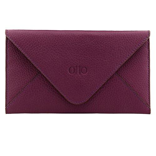 Otto Genuine Leather Wallet - Multiple Slots Money, ID, Cards, Smartphone, RFID Blocking - ()