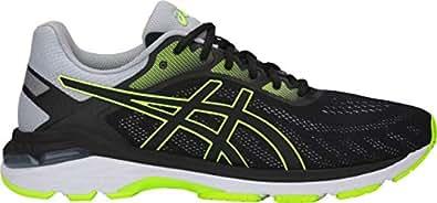 ASICS Gel Pursue 5 Men's Running Shoe, Black/Hazard Green, 8 D US